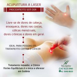 Acupuntura a Laser em Goiânia-GO, Anália Franco e Tatuapé, São Paulo.