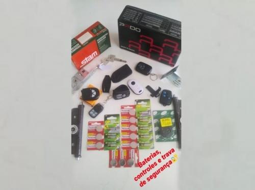 Baterias, Controles e Travas de Segurança