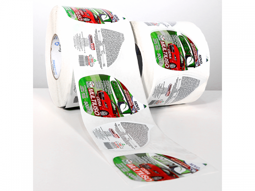 Rótulo Adesivo para Produto Automotivo