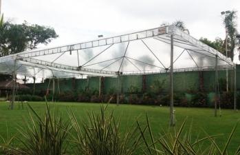 Tenda Piramidal Cristal