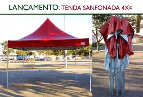 Lançamento - Tenda 4x4 Sanfonada.