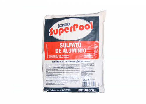 Sulfato de Alumínio - Decantador de Piscinas
