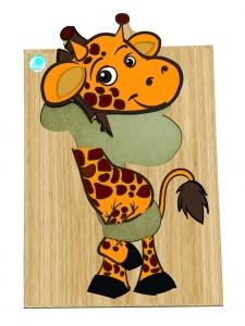 Quebra Cabeça - Girafa