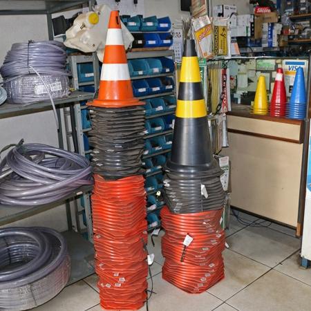 cone-de-sinalização