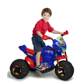 Super Moto Cross Hot Wheels EL 6v Bandeirante