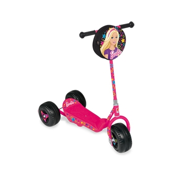 Patinete Barbie Bandeirante