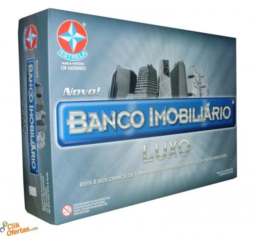 Banco Imobiliário Luxo Estrela