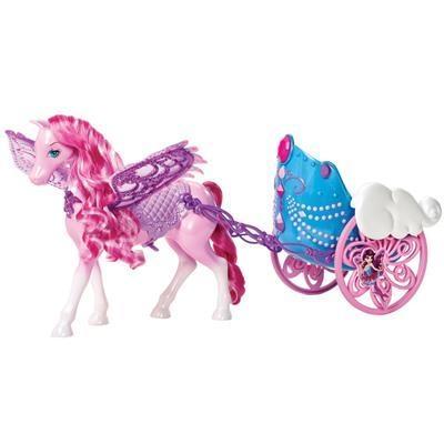 Carruagem do Pegasus - Barbie Butterfly e a Princesa Fairy - Mattel
