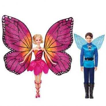Barbie Butterfly e a Princesa Fairy - Casal Butterfly - Mattel