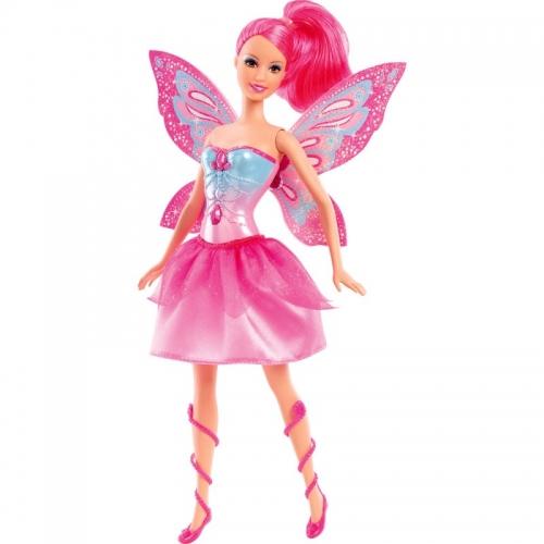 Boneca Barbie - Butterfly e a Princesa Fairy Rosa - Mattel