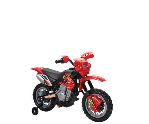 Moto Enduro Vermelha 6V