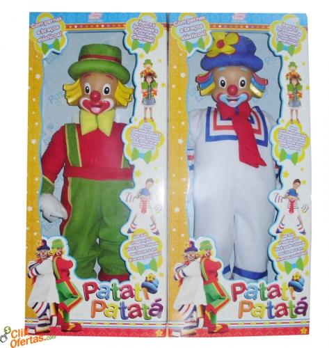 Bonecos Paptí Patatá - Musical