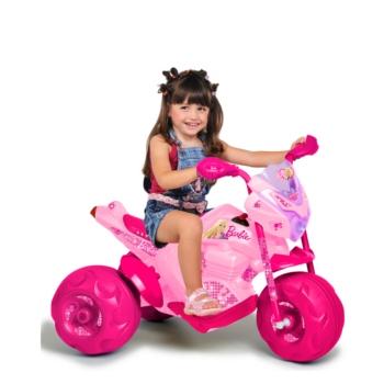 Super Moto Cross Barbie EL 6v Bandeirante
