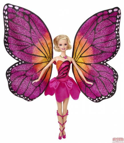 Boneca Barbie Butterfly e a Princesa Fairy - Barbie Butterfly - Mattel