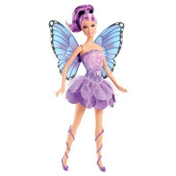 Boneca Barbie - Butterfly e a Princesa Fairy Lilás - Mattel