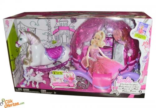 Carruagem da Barbie