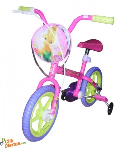 Bicicleta Aro 12 - Tinker Bell  Bandeirante