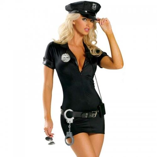 Fantasia Erótica - Policial - Vestido