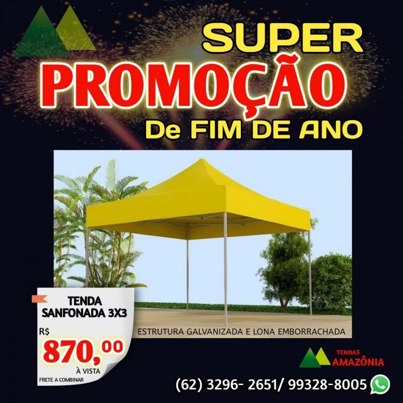 SUPER PROMOÇÃO - TENDA SANFONADA 3X3