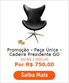 Promoção - Peça Única - Cadeira Presidente GO