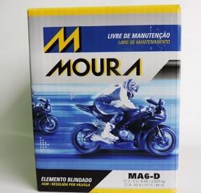 Bateria Moura MA6-DI