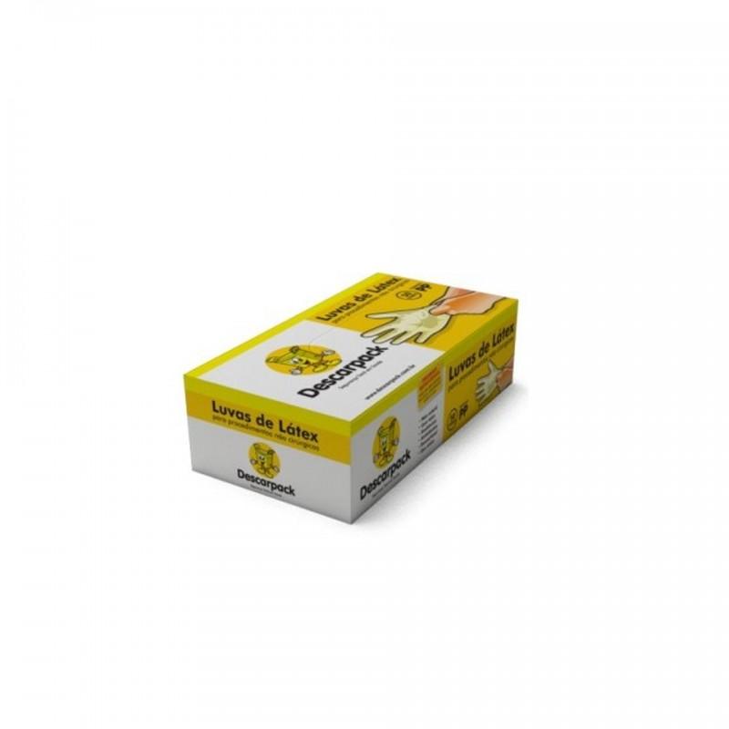 Luva de Procedimento Latex - Descarpack