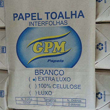 Papel Toalha Interfolhas - GPM PAPEIS