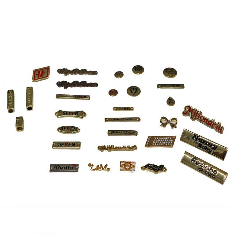 Etiquetas de Metal para Roupas