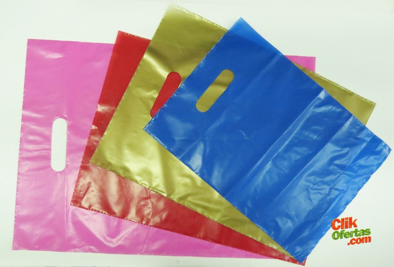 Sacolas de Plástico Lisas
