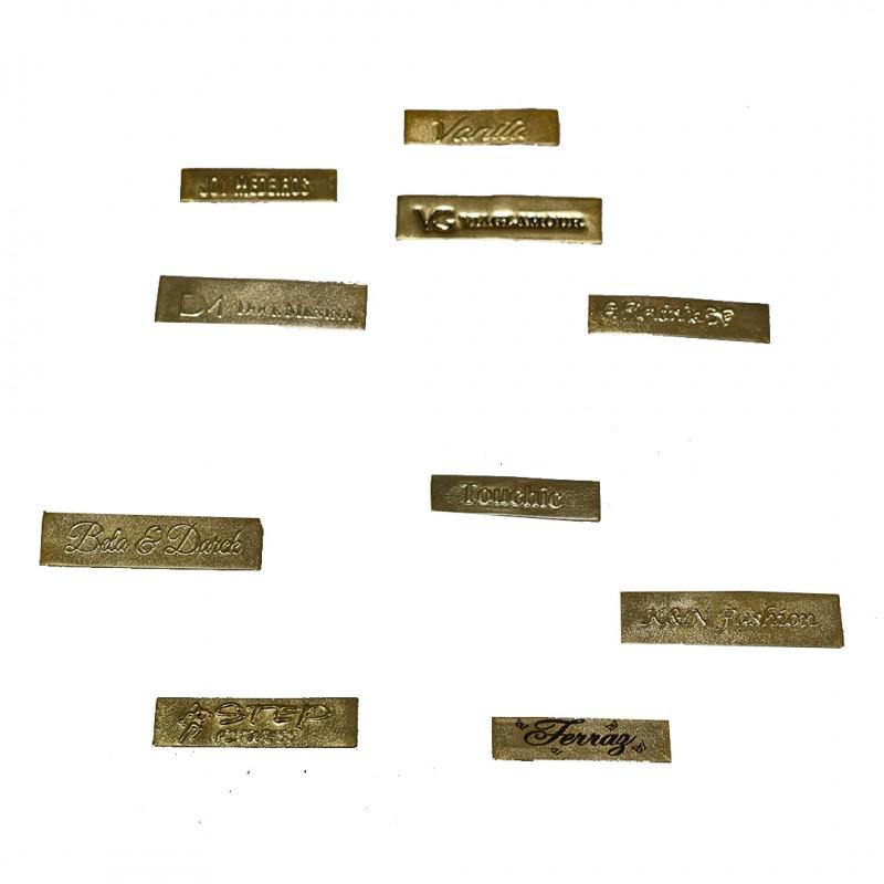 Etiqueta Sintética no Laminado Ouro e Prata