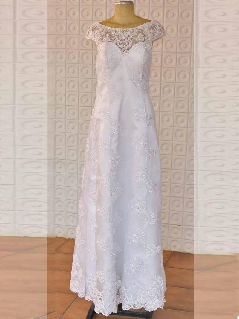 Vestido de Casamento Civil Priscila