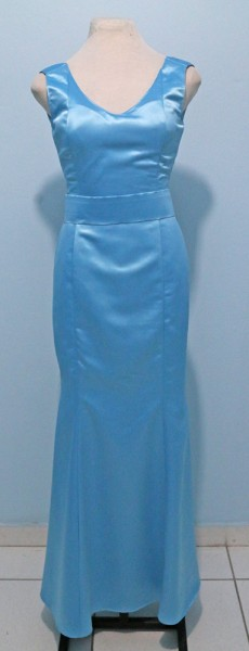Vestido Madrinha Azul 01