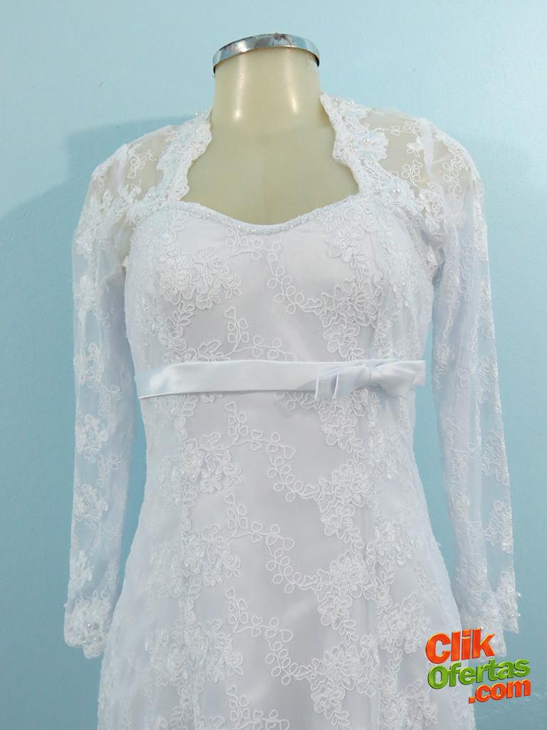 Vestido de Noiva Bruna de Renda