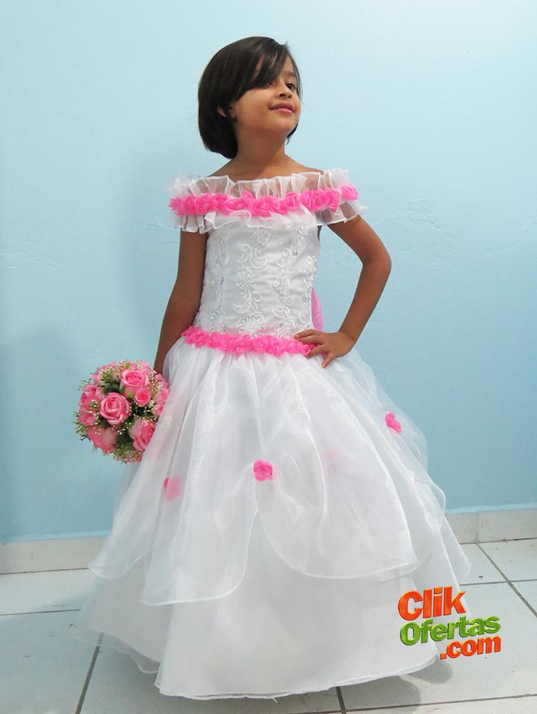 Vestido De Daminha de Honra Tayele
