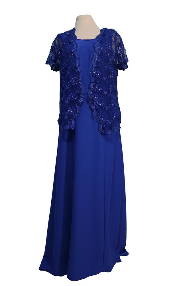 Vestido Madrinha Azul 02