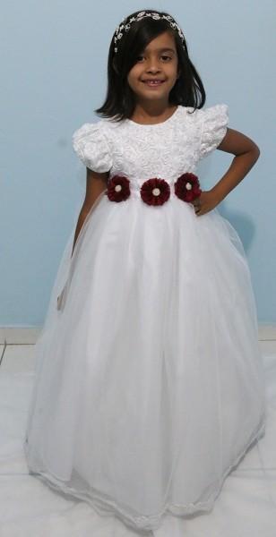 Vestido Daminha de Honra 03