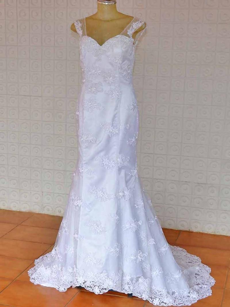 Vestido de Noiva Radassa Sereia
