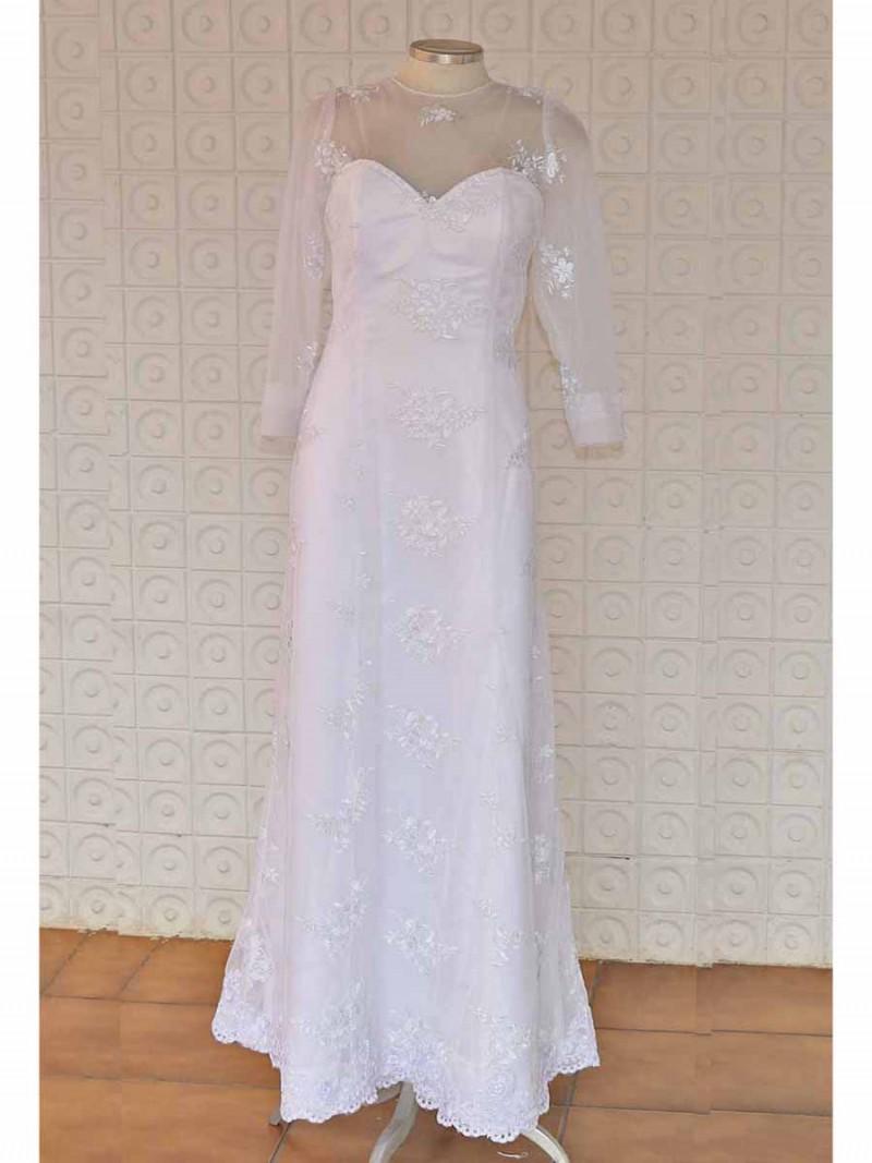 Vestido de Casamento Civil Yasmim