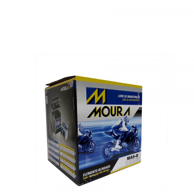 Bateria para Moto Moura MA5-D