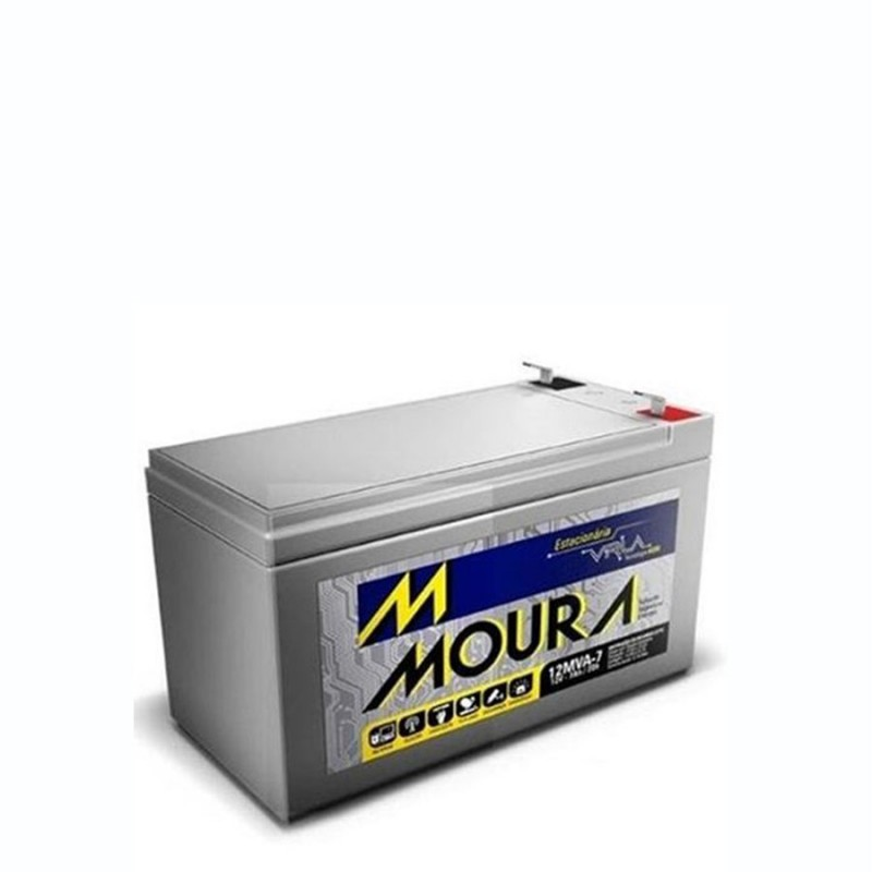 Bateria Estacionaria Moura Clean
