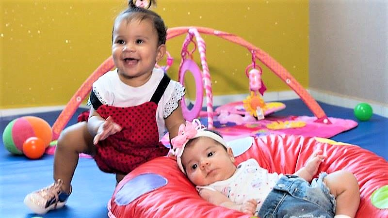 Sala Baby 1 - Bebês de 3 meses a 1 ano