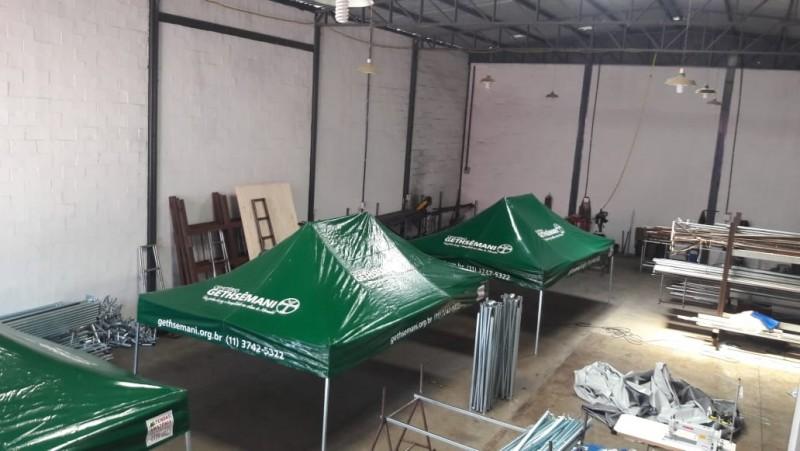 Tenda Sanfonada Personalizada 4,5x3