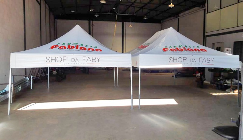 Tenda Sanfonada PVC 4,5x5