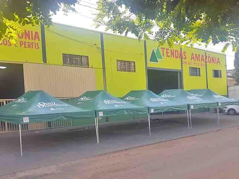 Tenda Sanfonada Personalizada 4-1/2 x 3