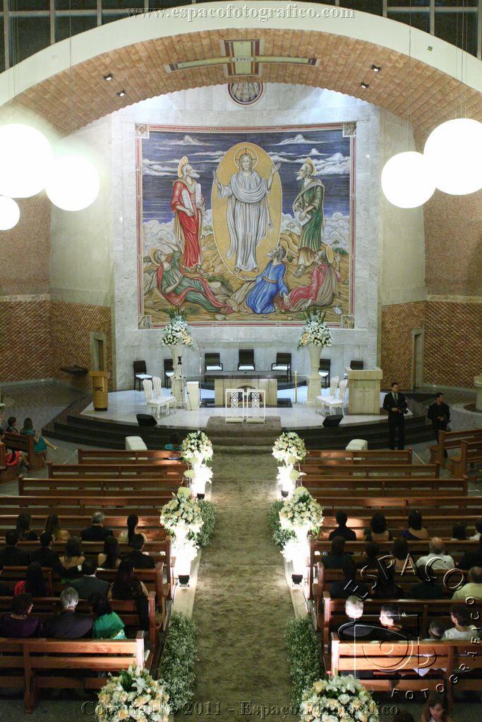 Casamento Lara e Paulo.  Par�quia S�o Jo�o Evangelista (14 fotos)