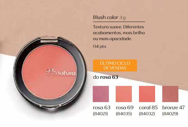 Blush Color - Linha Aquarela