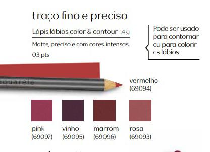 Lápis para Lábios Color & Contour