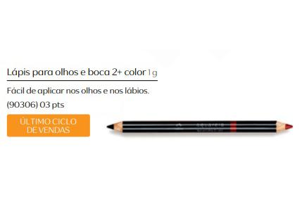 Lápis para Olhos e Boca 2+ Color