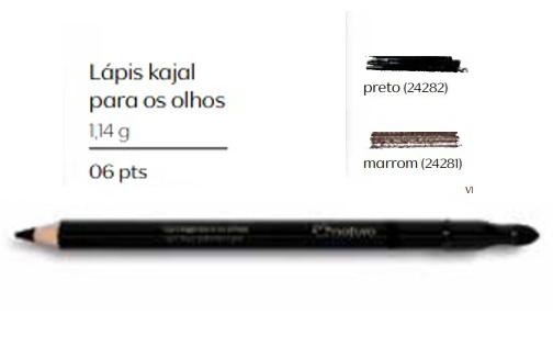 Lápis para Olhos Kajal Cor Intensa