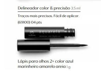 Delineador Color & Precisão - Linha Aquarela
